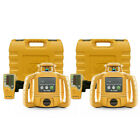 Topcon RL-H5B Construction Rotary Laser Level with LS-80L Receiver, 2-Pack