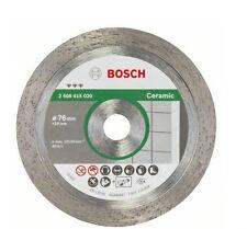 Bosch disco diamante gres porcelánico duro para MINI AMOLADORA GWS 10,8-76 V-EC