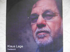 "Klaus Lage   Vielleicht   5"" Promo Maxi - CD   1 Track   2011   super rar!!"