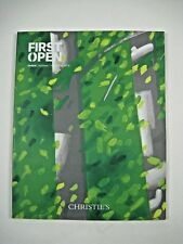 Christie's Auction Catalog First Open Edition 2016 New York Mike Kelly Jeff Koon