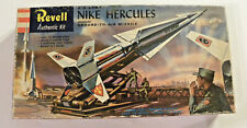 Revell Nike Hercules Ground to Air Missile, Snap fit Moving Parts, decals, 1958