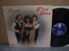SASSI – FIRST TAKE Private Legend Valley '81 LP US RURAL ROCK COUNTRY Signed!