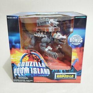 "1997 Trendmasters super rare Godzilla Doom Island ""BATTLE ARMOR ANGUIRUS"" figure"