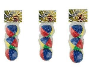 9X PU Juggling Balls Set Ball Bag For Magic Circus Beginner Kids Toy Gift Fun