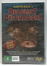 AUSTRALIA'S DEADLIEST DESTINATIONS * NEW SEALED ALL REGIONS DVD * GREG GRAINGER