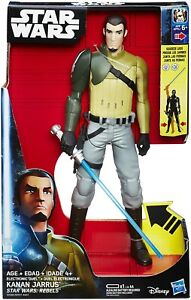 Star Wars Rebels Electronic Duel Kanan Jarrus Large Action Figure