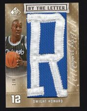 2c1e10a9f 2007-08 Upper Deck SP Game Used Dwight Howard By The Letter Patch  1