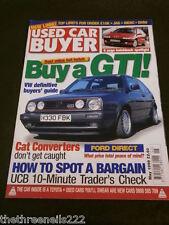 USED CAR BUYER - CAT CONVERTORS - MAY 1999