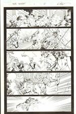 Hercules: Twilight of a God #1 p.21 - Hercules Chariot Action - 2010 by Ron Lim Comic Art