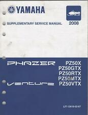 2008 YAMAHA SNOWMOBILE SUPPLEMENT MANUAL (see list)