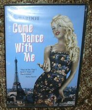 COME DANCE WITH ME DVD, NEW/SEALED. BRIGITTE BARDOT, VERY RARE AND HARD TO FIND
