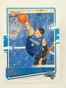 Panini Donruss 2020-21 N18 NBA trading card #3 Orlando Magic Nikola Vucevic