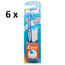 Wisdom Easy Flosser with 25 heads x 6 Packs - Best Price Around