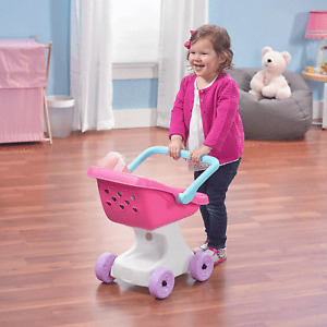 Step2 Love & Care Doll Stroller Pretend Play Kids Toy Toddler Doll Not Included
