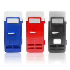 USB Car Portable Mini Drink Cooler New Car Boat Travel Cosmetic Fridge 2FK