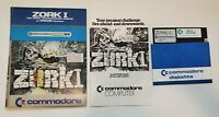 ZORK I Infocom Commodore 64 C64 Vintage Big Box PC Game Folder/ Sleeve Style