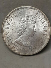 1959 Bermuda 1 Crown Large Silver Coin! BU WITH COA UNCIRCULATED PRICED TO SELL