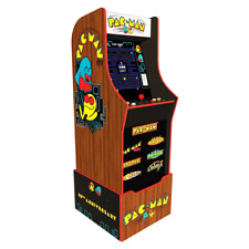 Arcade1up Pac-man 40th Anniversary Edition Arcade Machine With Riser and Light