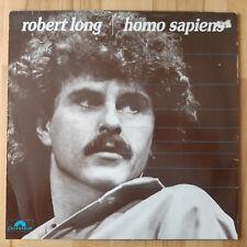 Robert Long Homo sapiens | LP GERMAN POLYDOR 1981 con originale guscio interno (OIS)