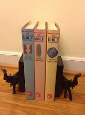 THE ILLUSTRATED BIBLE DICTIONARY, 3 VOL SET, TYNDALE, 1ST EDITION 1980