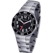 TIME FORCE TF-3386B01M RELOJ CADETE  ACERO 50M COLECCION CHRISTIANO RONALDO