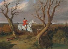 "John Frederick Herring: ""Suffolk Hunt: Gone Away"" (1833) — Giclee Fine Art Print"