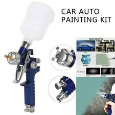 HVLP Car Paint Spray Gun 1.4MM Nozzle  High Pressure Gravity Feed Vehicle