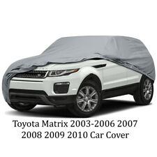 Toyota Matrix 2003-2006 2007 2008 2009 2010 Car Cover