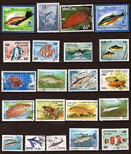 Les POISSONS de mer et d'aquarium - fish of sea-  28M254A