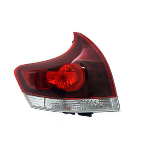 TO2800190C New Replacment Driver Side Tail Light Assembly