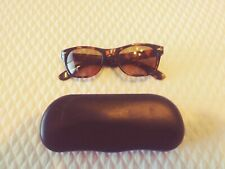 Sunglasses With Reading Magnifier & Case