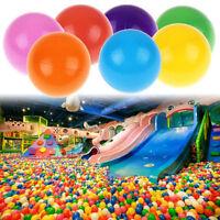 Practical 50pcs Ball Soft Plastic Ocean Ball Baby Toy Swim Pit Play Ballon LIAU