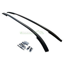 LAND ROVER DISCOVERY SPORT L550 NEW BLACK ROOF RAILS BARS KIT (2015+) PANORAMIC