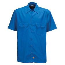 Dickies Shrt/s Work Shirt Royal Blue Medm