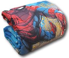 Caleffi Spiderman Fluo Trapunta singola con Stampa Forsforescente