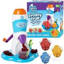 New Taste N Fun Frosty Fruit Slush Machine Sorbet Ice Drink  Official