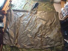 Original USGI OD (OG-207) Nylon Twill Hooded Poncho, good/ very good condition