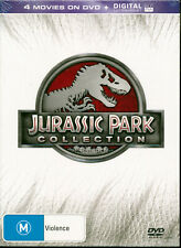 Jurassic Park Collection DVD NEW 4 movies Region 4 digital ultraviolet