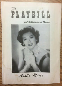 Playbill – ROSALIND RUSSELL: Auntie Mame (1956)