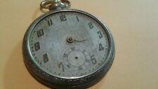 Pocket Watch 6j (B4#18) running Vintage Tacy Watch Co Admiral Swiss