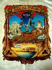 HRC Hard Rock Cafe Mykonos Greece City Tee XL neu new NWT