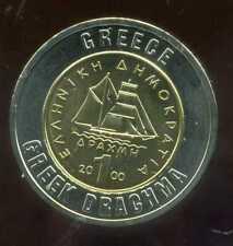 GRECE 1 drachme    monnaie européenne, Universel Bimétallique jeton