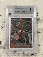 🔥 2003-04 03 Topps Chrome Lebron James #111 ROOKIE RC BGS 9 9.5 X 3 LA Lakers