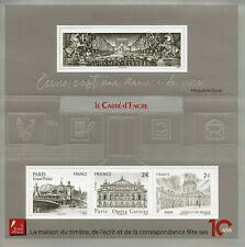 France Architecture Stamps 2019 MNH Carre D'Encre Opera Champs Elysees 4v M/S