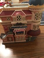 2005 Dept 56 Christmas in the City Royal Flush Casino Barely Used No Damage