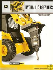 Equipment Brochure - John Deere - HH15 et al - Hydraulic Breakers - 2007 (E1642)