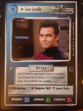 Star Trek CCG Holodeck Adventures 71C Sam Lavelle NrMint-MINT