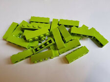 Lego Lime Brick 1x4, Part 3010, Element 4234716, Qty:25 - New