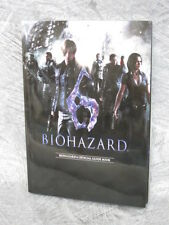 BIOHAZARD 6 Resident Evil Guide Book Japan Sony PS3 XBox CP04