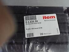 item 0.0.436.58 Rollenelement 8 80 Profil Aluminiumprofil Alu